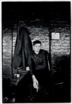 Kevin Cummins photo of Ian Curtis.