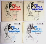 4 EP covers for the Joe Newman Octet 45s. Courtesy of Guy Minnebach.