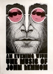 Signed limited edition poster: An Evening with Music of John Lennon.