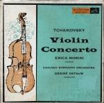 Tchaikovky's Violin Concerto.