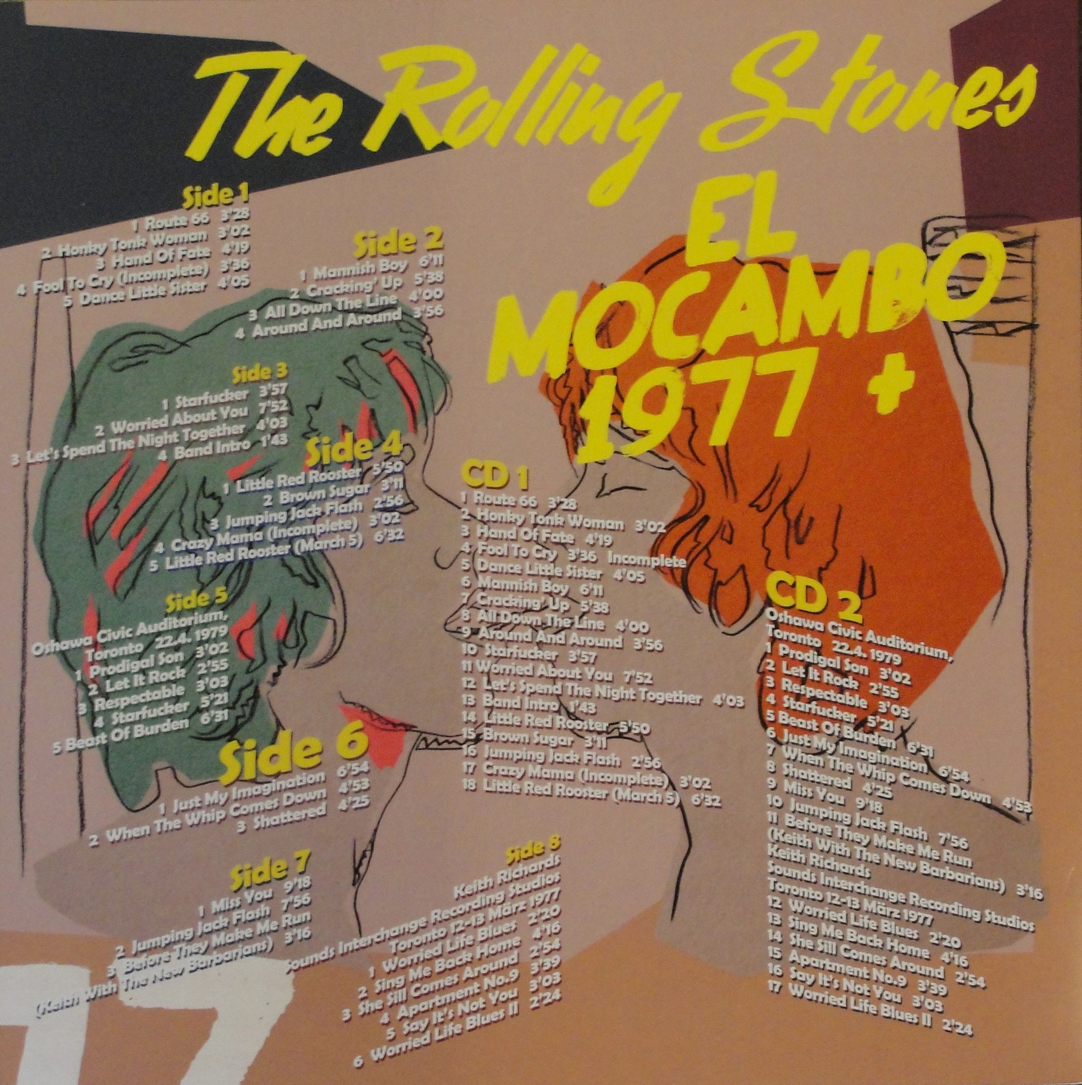 "The Rolling Stones – ""El Mocambo 1977 +"" a new bootleg box"