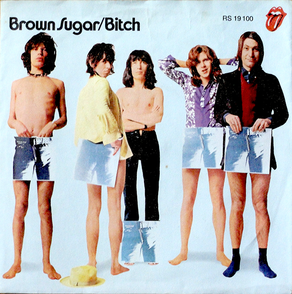 "The Rolling Stones' ""Brown Sugar"" singles and EPs 