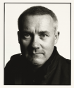 Damien Hirst in August 2008. Photo by David Bailey.