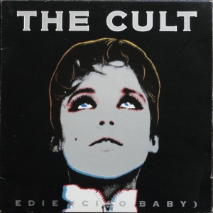"The 7"" single's front cover."