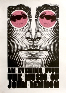 "Poster for ""An Evening with the Music of John Lennon""."
