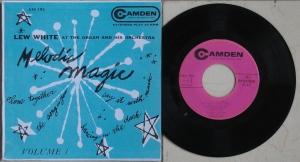 "Lew White's EP ""Melodic Magic""."