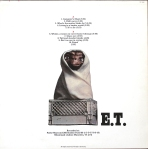 The rear of the 1985 cover with ET.