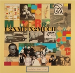 "Peter Blake's cover design for Landscape's ""Manhattan Boogie-Woogie"" album."