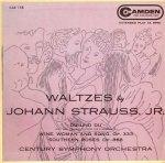 Camden CAE 158 - Waltzes by Johann Strauss, Jr.