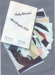 The Castelli mini portfolio of Warhol's 1975 portraits of Mick Jagger.