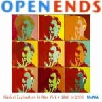 "The booklet from ""Open Ends: Musical Exploration in New York 1960-2000"". Released by the Museum of Modern Art."