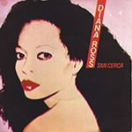 "The Diana Ross ""So Close"" single in its poster cover."