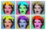 Banksy's Warhol style Kate Moss portraits (2005)