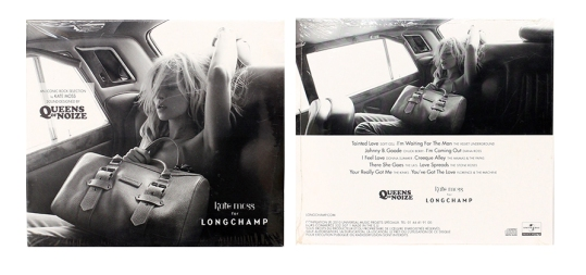 Kate Moss 2010 CD for Longchamps.