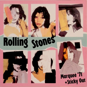 The Rolling Stones' bootleg CD