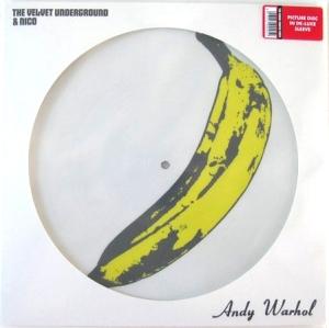 Vinyl Lovers picture disc in die-cut card sleeve.