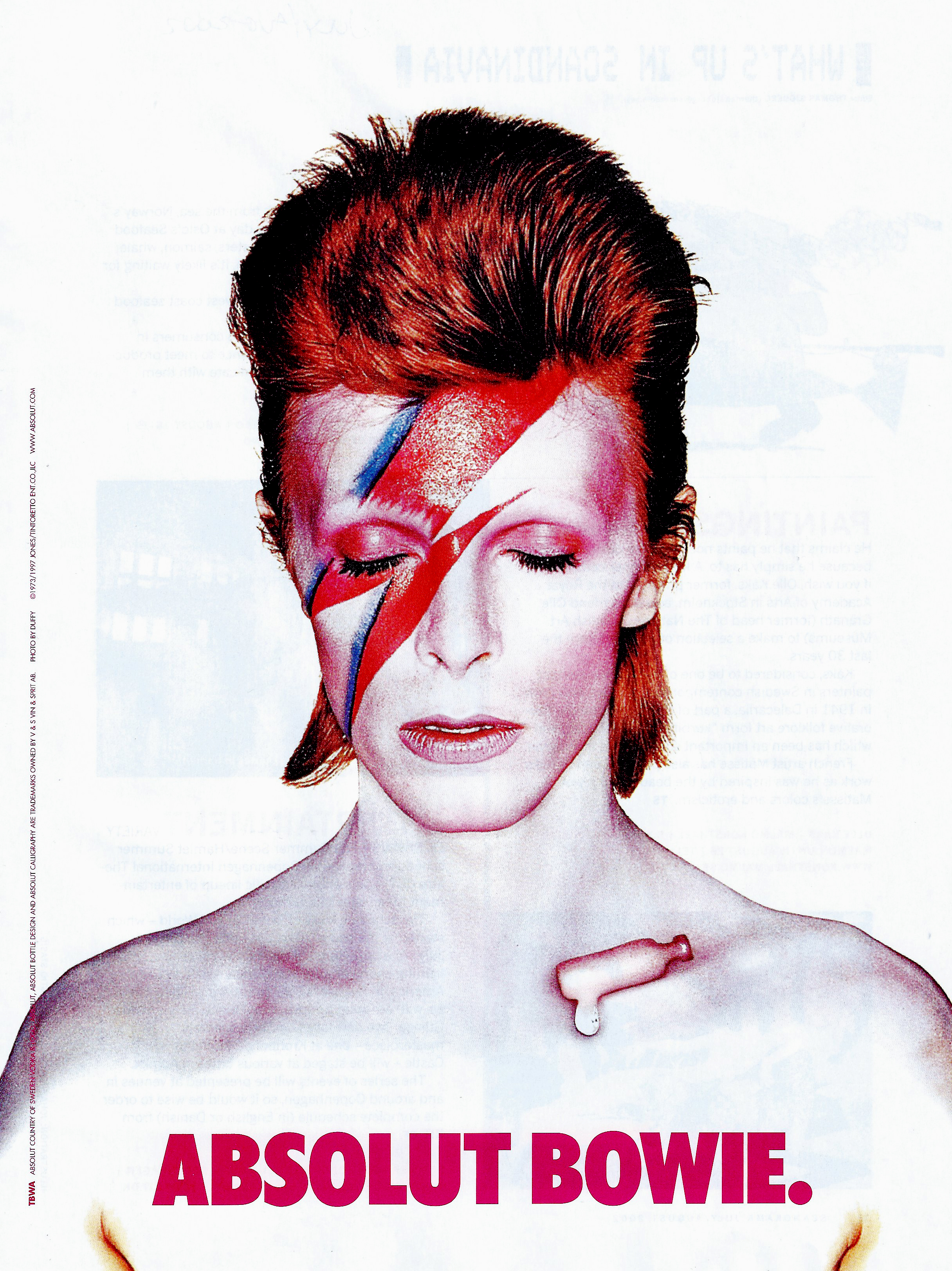 Absolut Bowie.