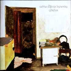 "Front and rear cover of Mattias Alkbergs Begravning's ""Epitafium"" EP."