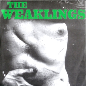 Richard Avedon's photograph of Andy Warhol's abdomen after he was shot in 1968 on the cover of The Weaklings' 1999 single.