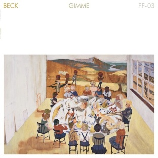 "Beck ""Gimme"". Cover art by Karin ""Mamma"" Andersson."