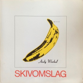 "Catalogue from Nationalmuseets 1981-2 exhibition ""Skivomslag"" (record covers)."