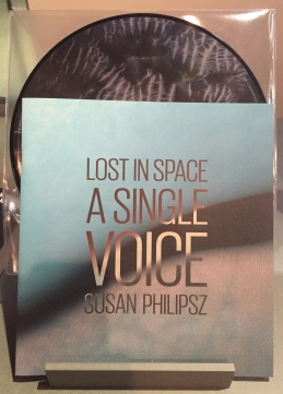 "The picture disc LP and book of Susan Philipsz' ""Lost in Space"" installation."