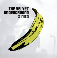 The latest bootleg version of The Velvet Underground & Nico's Norman Dolph acetate superimposed the classic banana image over a photo from the 1966 film of the Velvets in concert.