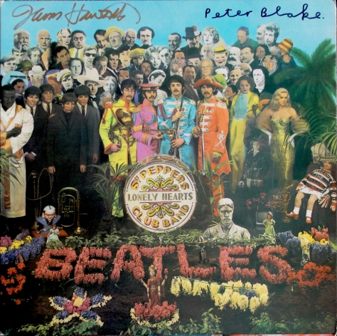 Sgt Pepper-signed