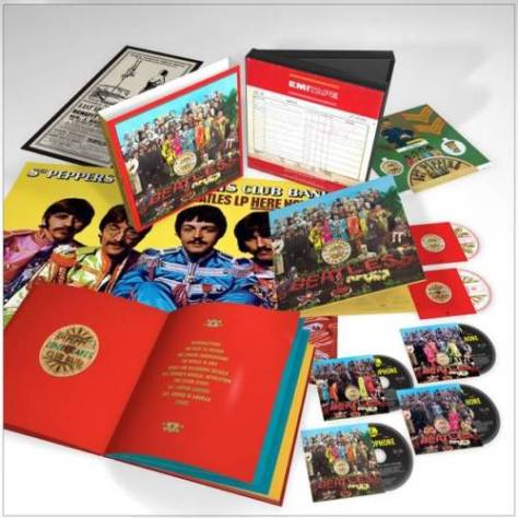 Sgt Pepper box ad