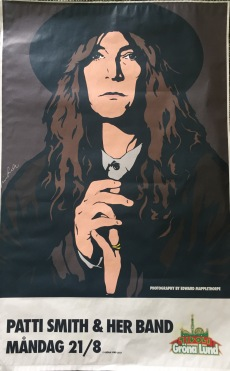 Patti Smith played on 21st August.