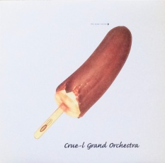 "The Cru-el Grand Orchestra's 12"" single ""Family"" with its obviously Warhol-inspired banana ice lolly."