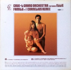 "The rear cover of the Cru-el Grand Orchestra's 12"" single ""Family"". Another cover pastiche?"