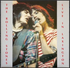 "The front cover of ""Live in Laxington""."