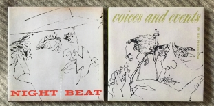 "The ""Night BEat"" and ""Voices and Events"" box sets."
