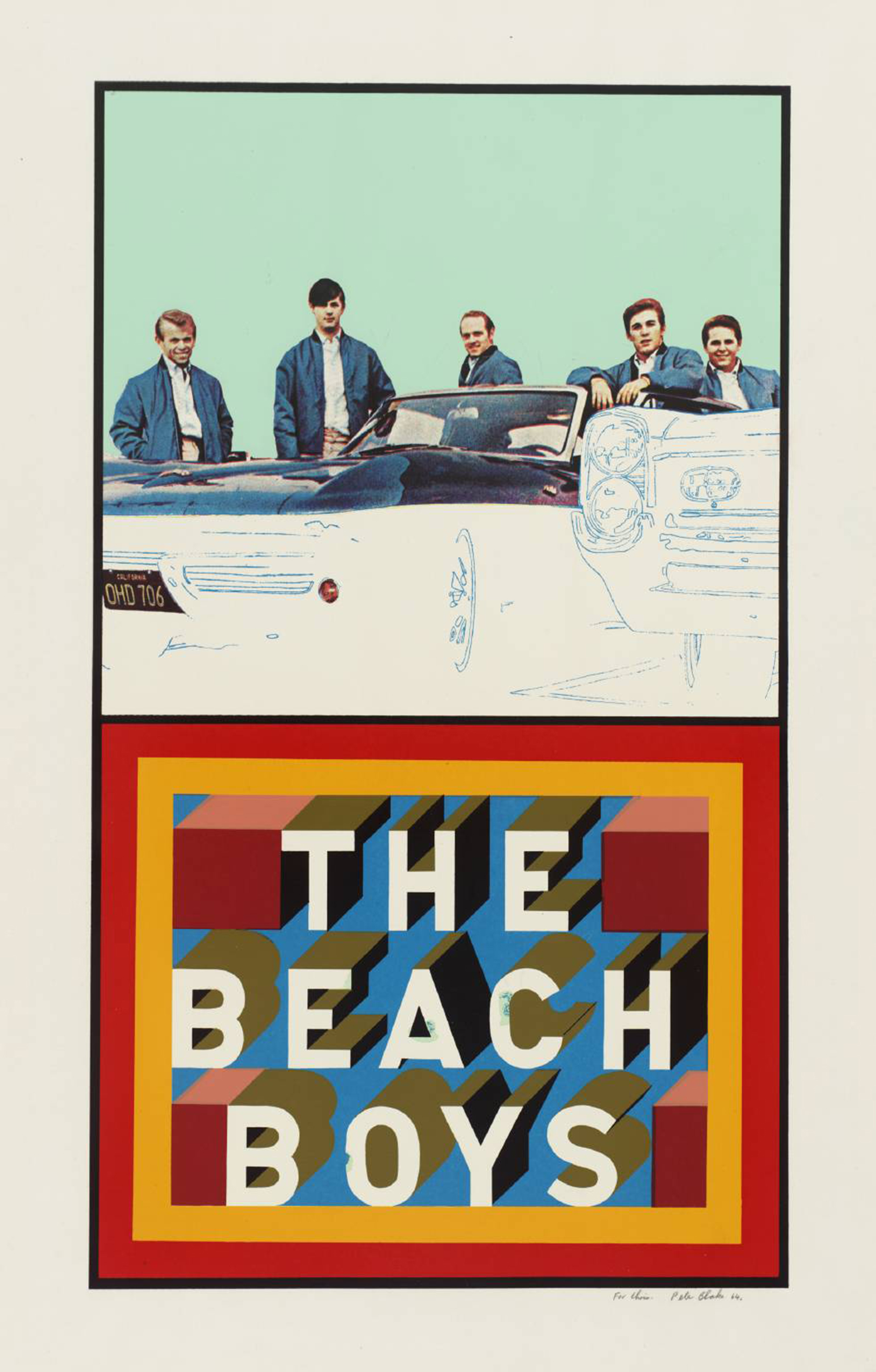Beach Boys 1964 by Peter Blake