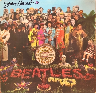 "1967 copy of ""Sgt. Pepper"" signed by Jann Haworth"