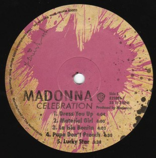 Record Label Side 5.