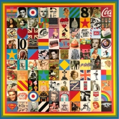 100 Sources of Pop Art. Print by Peter Blake.