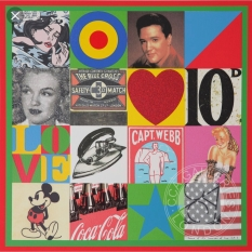 Sources of Pop Art V. Print by Peter Blake.