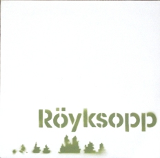 Röyksopp's Melody A.M. promo cover, Number 84/100. Olive green version.