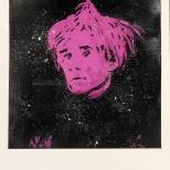 Warhol purple