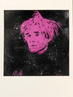 Warhol purple
