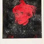 Warhol red